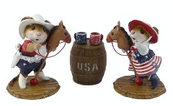 Giddy-Up/Clippity-Clop and USA Barrel Ltd. Set